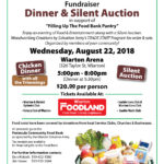 PENINSULA COMMUNITY FOOD BANK FUNDRAISER DINNER & SILENT AUCTION. @ Wiarton Arena | Wiarton | Ontario | Canada